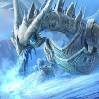 Armored Frost Dragon