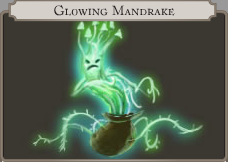 Glowing Mandrake icon