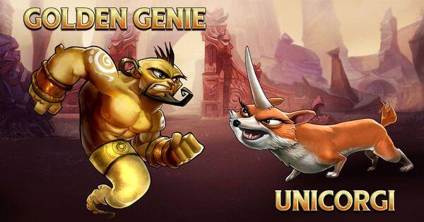 Goldengenie and unicorgi