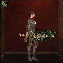 Laedis Hero One-Handed Sword - Level 94