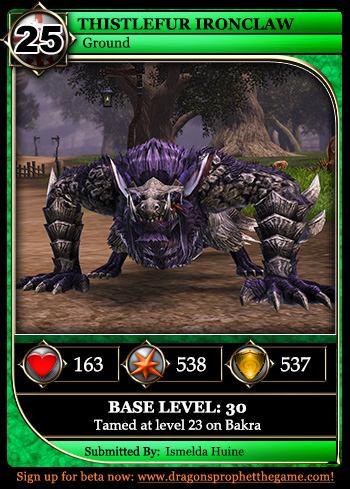 Dragon Card TID25