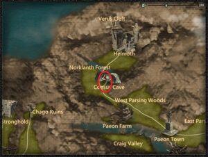 Verdant predator dragon location