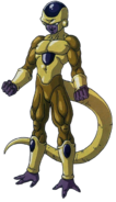 Golden Freeza art