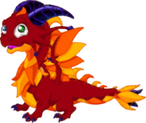 Motley Dragon Adult