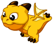 Sunstruck Dragon Baby