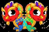 Double Rainbow Dragon Baby