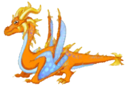 Electrum Dragon Adult