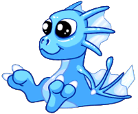 Ice Dragon Baby