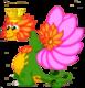FlowerDragonAdultCrown