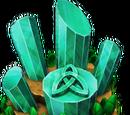 Emerald Triquetra