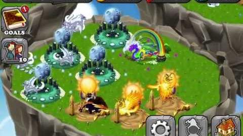 DragonVale Gameplay Commentary part 1