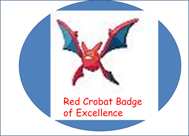 File:Red Crobat Badge of Excellence.png