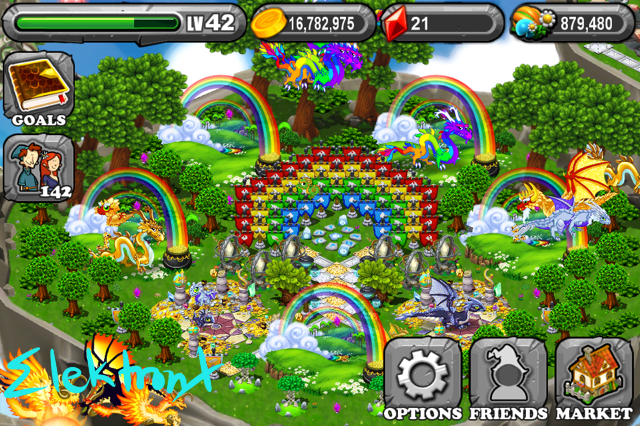 dragonvale how to get a garland dragon