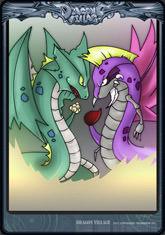 Card jinae-snake