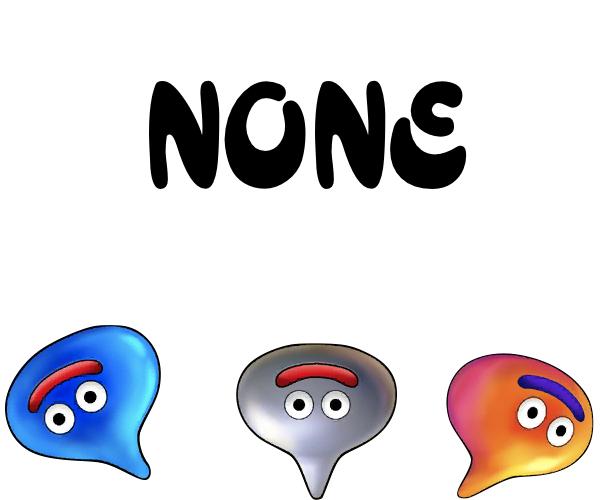 None Icon big