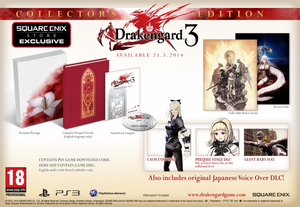 Drakengard 3 European Release - Collector's Edition