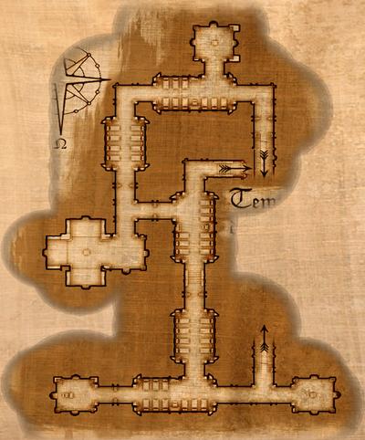 Tempel der Hesinde Map Gruft