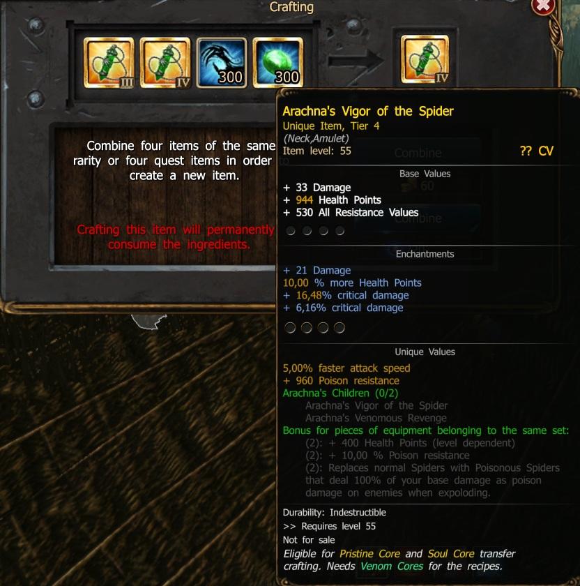 Drakensang Crafting Guide
