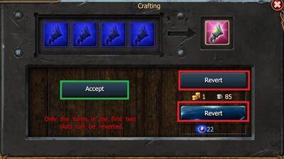 Revert Crafting-0