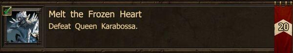 Karabossa kill achievement