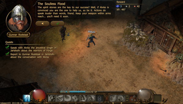 The soulless flood a