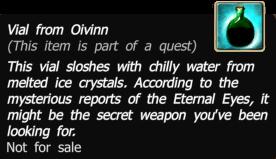 Vial from oivinn