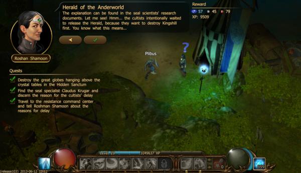 Herald of the anderworld d