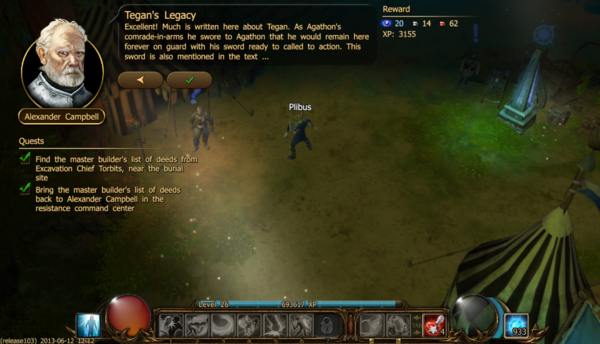 Tegan's legacy b