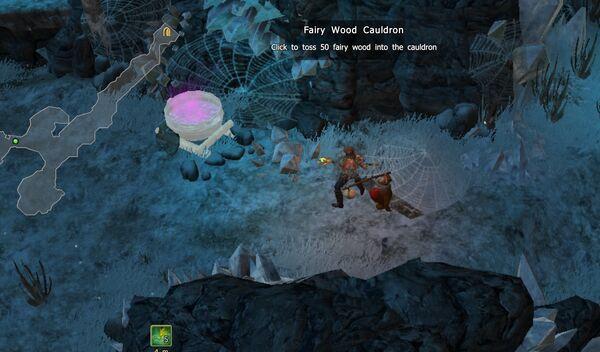 Fairy Wood Cauldron