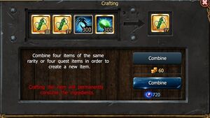 Soul Core crafting ingredients