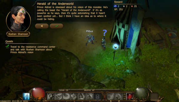 Herald of the anderworld a