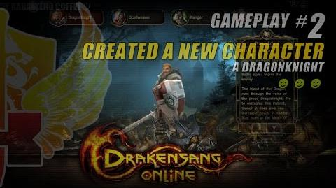 Drakensang Online Gameplay 2 ★ Created A New Character • A Dragonknight