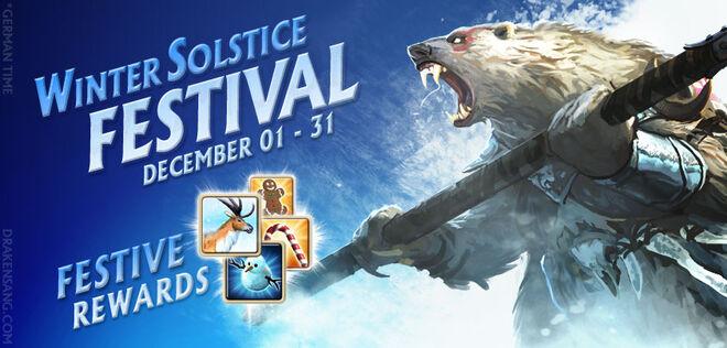 Winter solstice banner