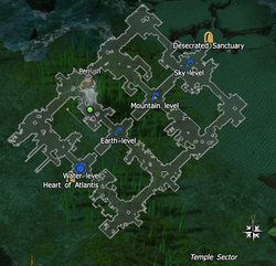 Map Temple Sector