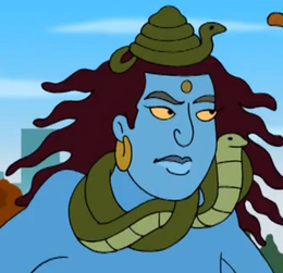 Vishnu in Drawn Together
