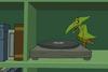 Archaic Recording Machine