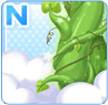 Beanstalk To The Skies Green