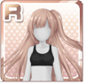 Band Girl's Hairstyle Silver