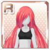Elegant Hair Light Red