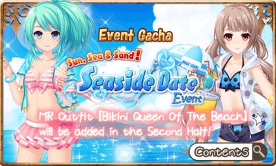 Seaside Event Gacha Banner