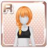 Summer Festival Hair Orange
