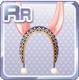 Long-Eared Headband Pink