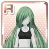 Elegant Hair Green