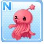 Shoulder Squid Pink