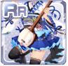 Folk Music Princess Blue