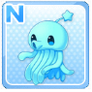 Shoulder Squid Blue