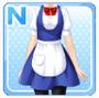 Regular Waitress Blue
