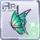 Butterfly Hair Acc Green