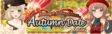 Autumn Date Event Banner