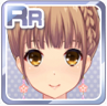 Flowered Teardrop Earrings Pink
